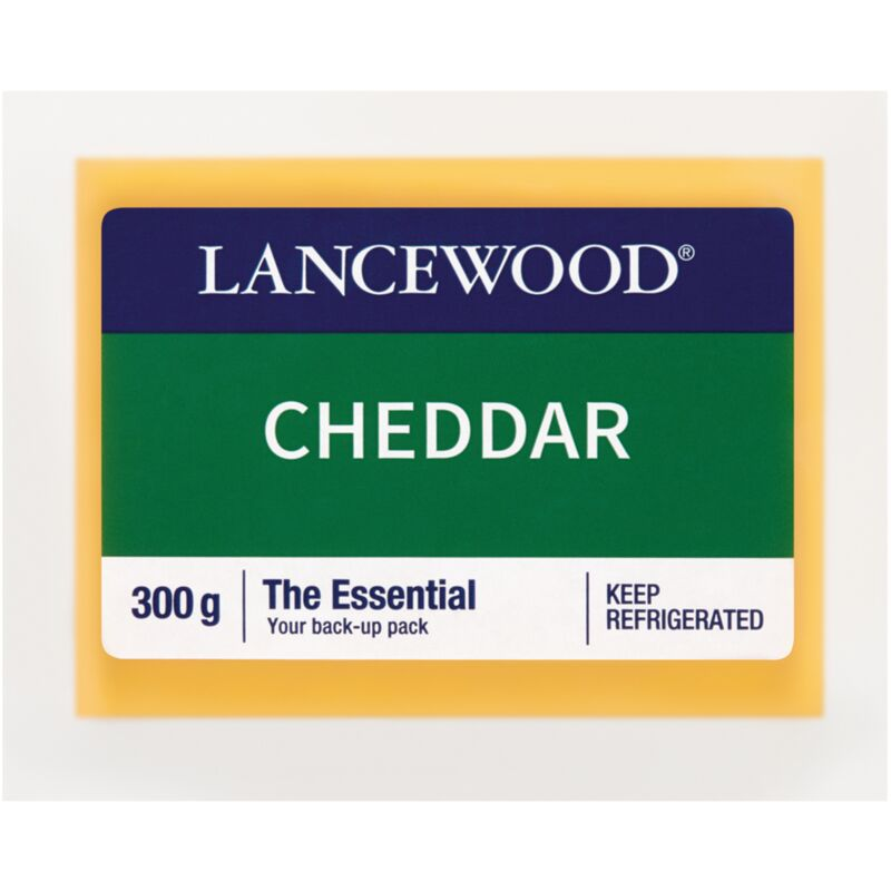 LANCEWOOD CHEESE CHEDDAR – 300G