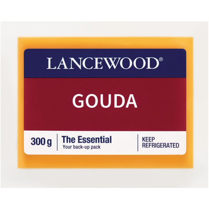 LANCEWOOD CHEESE GOUDA – 300G