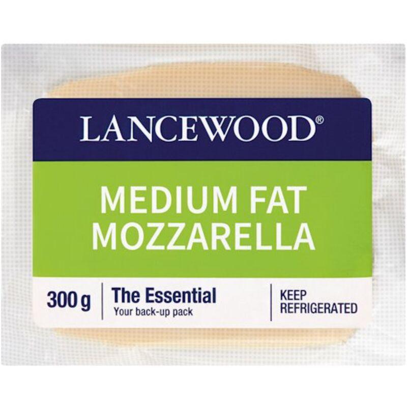 LANCEWOOD CHEESE MOZZARELLA – 300G