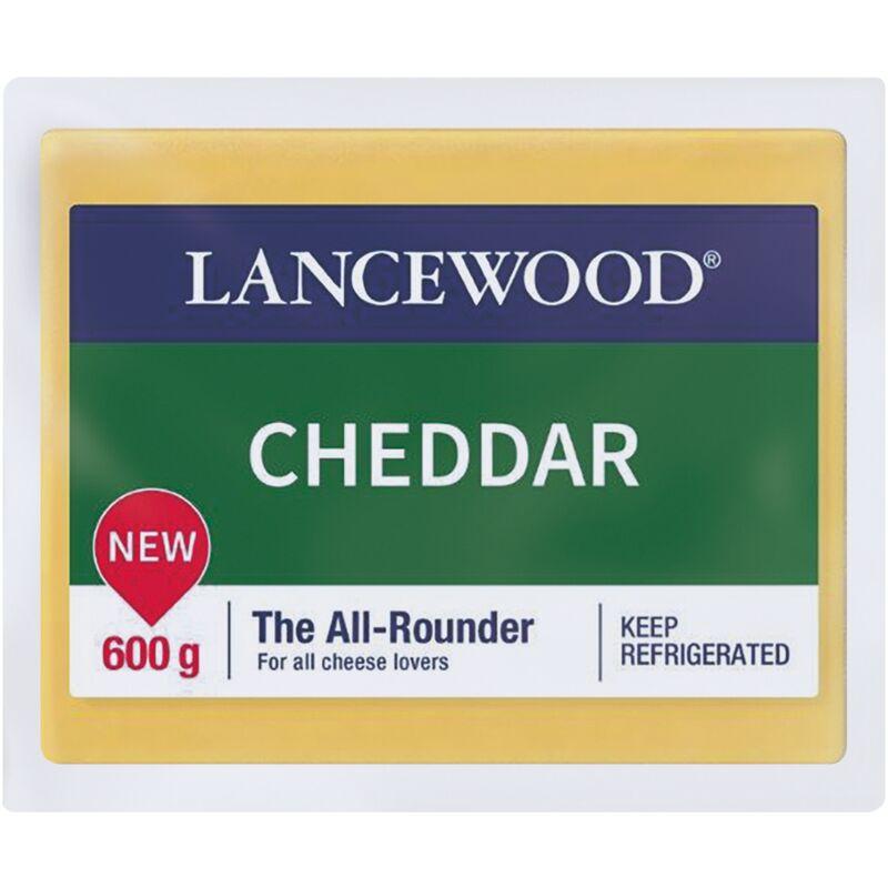 LANCEWOOD CHEESE CHEDDAR – 600G