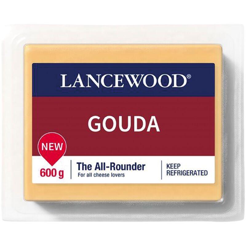 LANCEWOOD CHEESE GOUDA – 600G