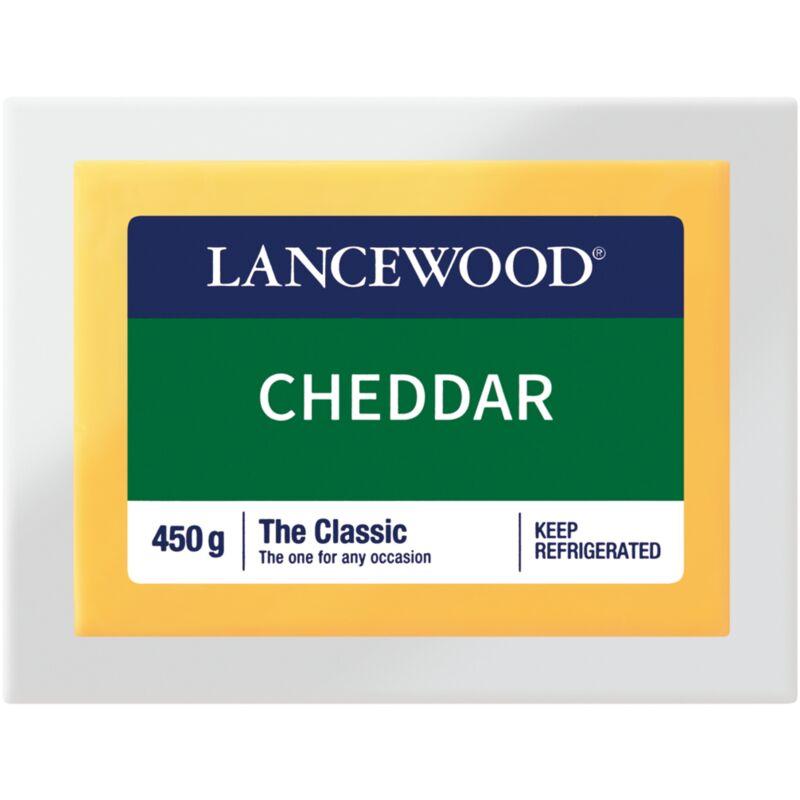LANCEWOOD CHEESE MILD CHEDDAR VACUUM PACK – 450G