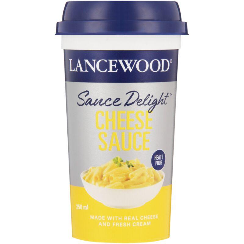 LANCEWOOD SAUCE CHEESE DELIGHT – 250ML