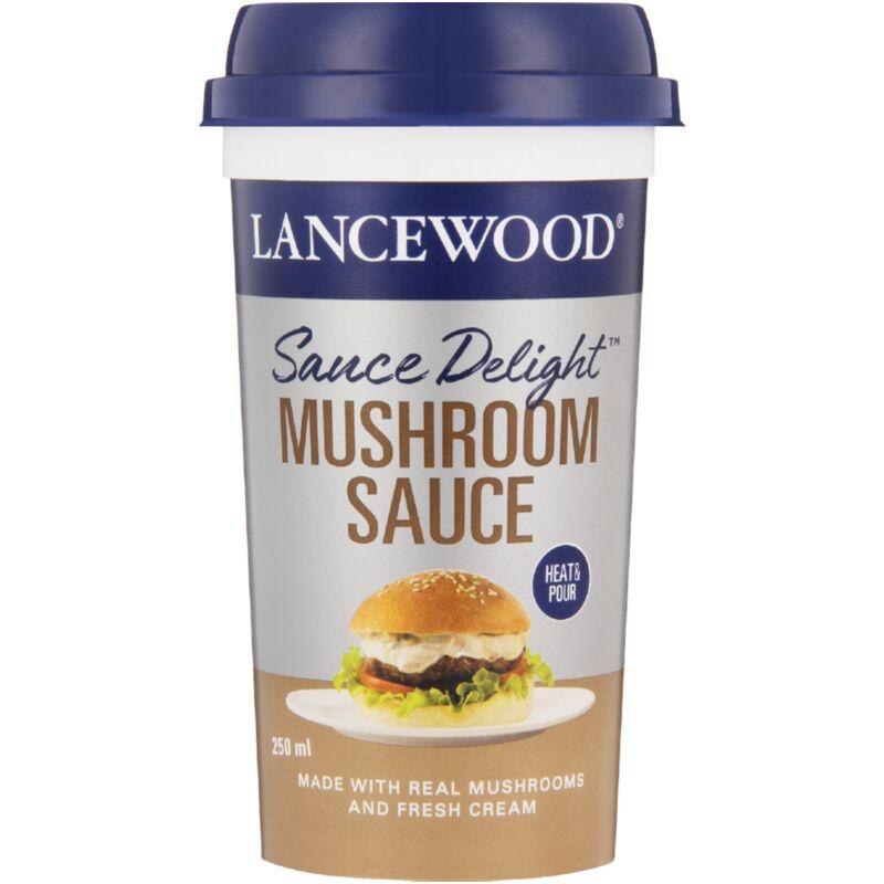 LANCEWOOD SAUCE MUSHROOM DELIGHT – 250ML