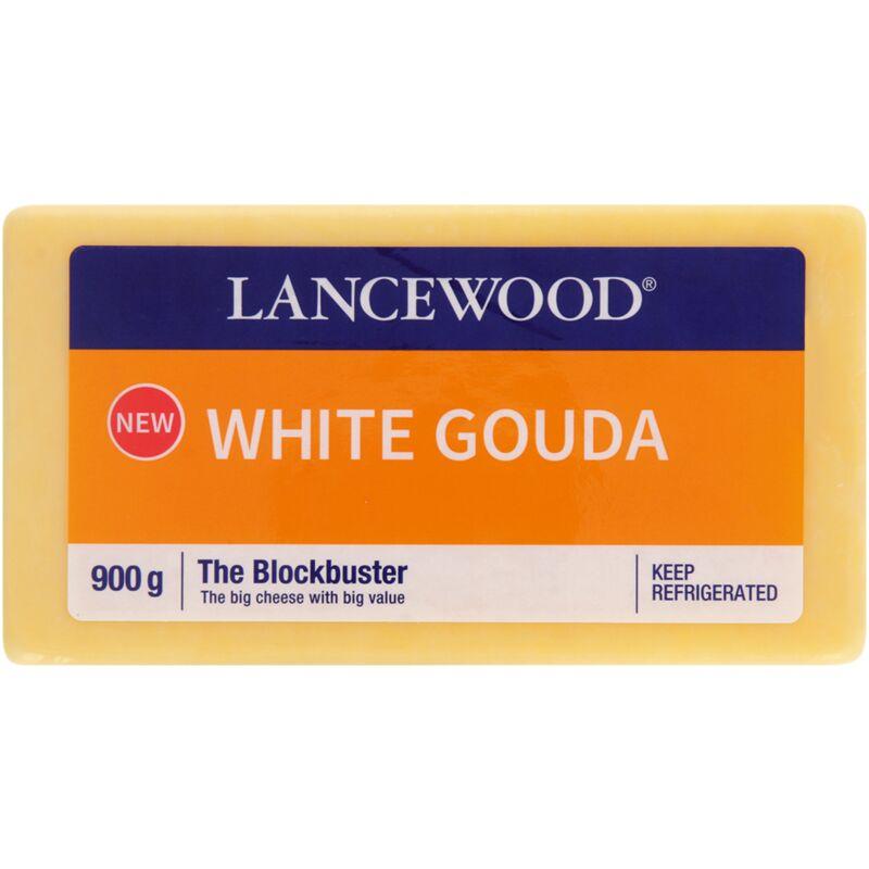 LANCEWOOD CHEESE GOUDA WHITE – 900G