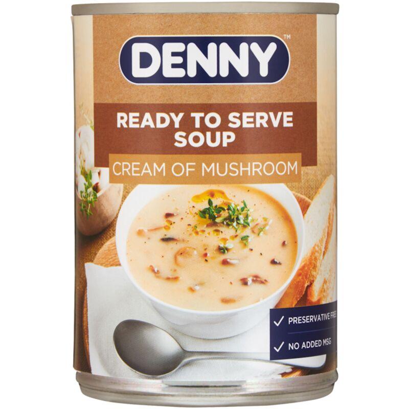 DENNY SOUP CREAM OF MUSHROOM – 400G