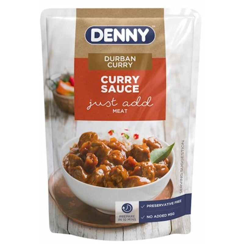 DENNY CURRY SAUCES DURBAN CURRY – 415G