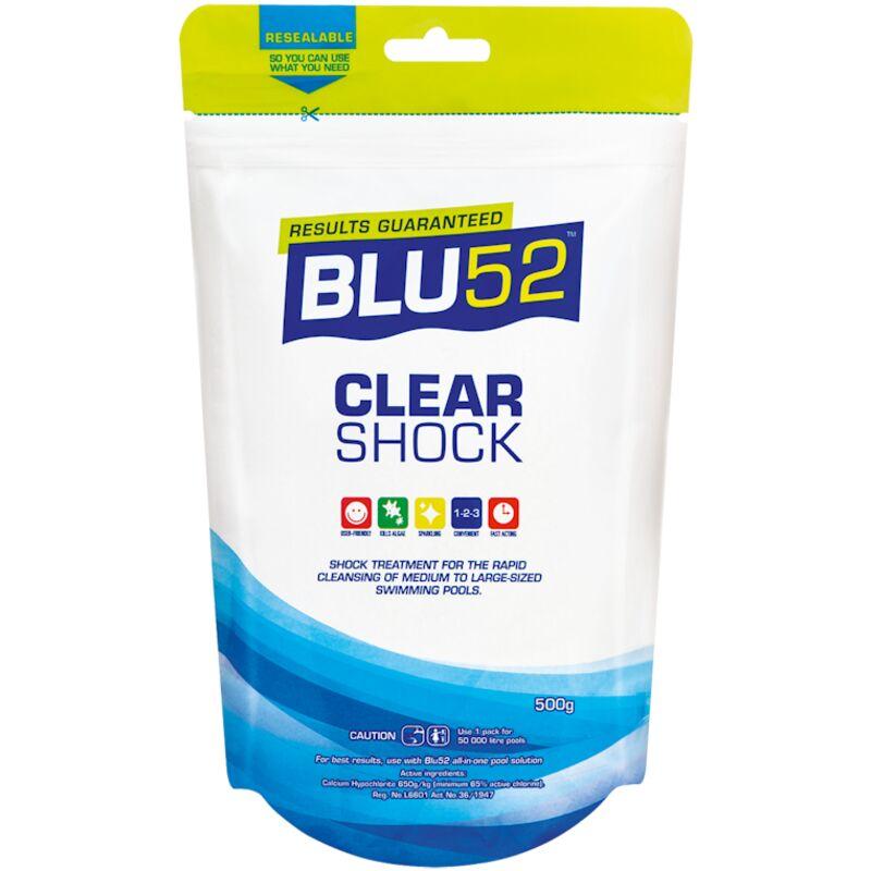 BLU52 CLEAR SHOCKM – 500G