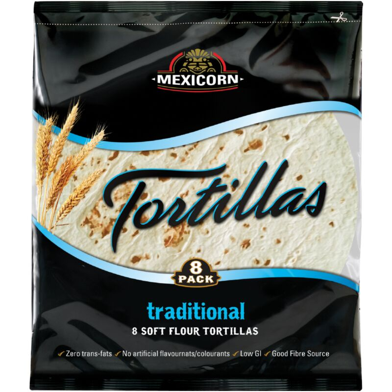 MEXICORN TORTILLAS 8 PACK TRADITIONAL – 320G