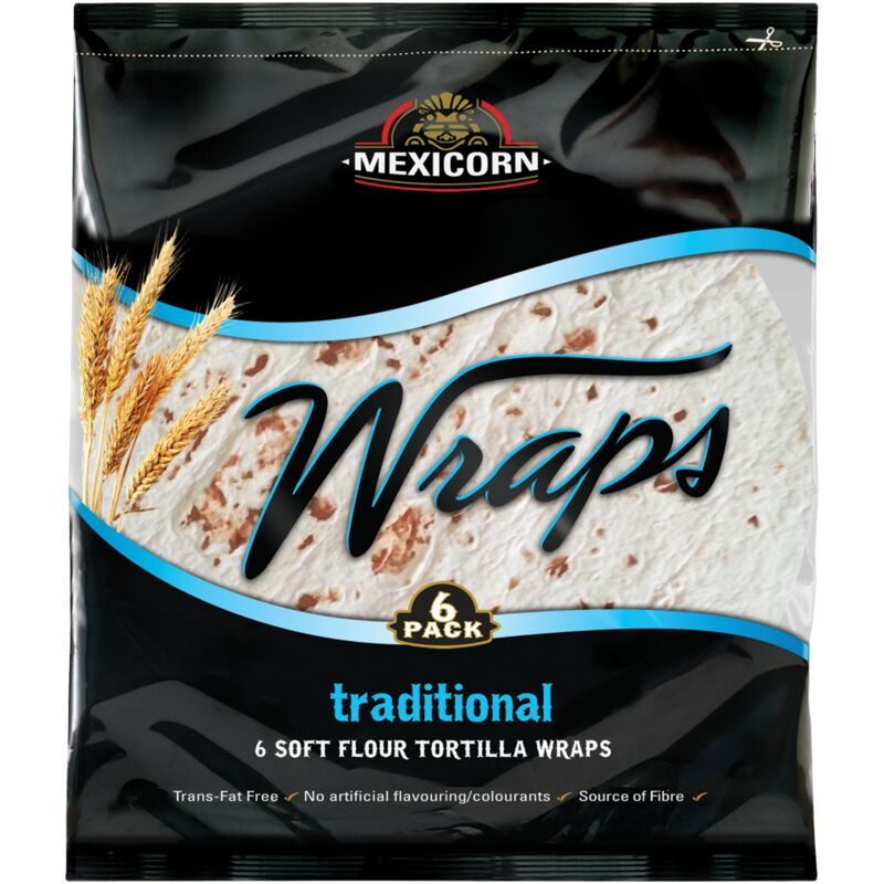 MEXICORN WRAP 6 PACK TRADITIONAL – 420G