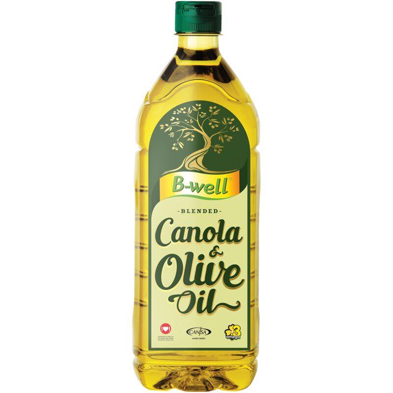 B-WELL CANOLA OLIVE BLEND – 1L
