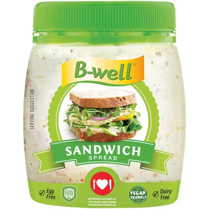B-WELL SANDWICH SPREAD – 250G