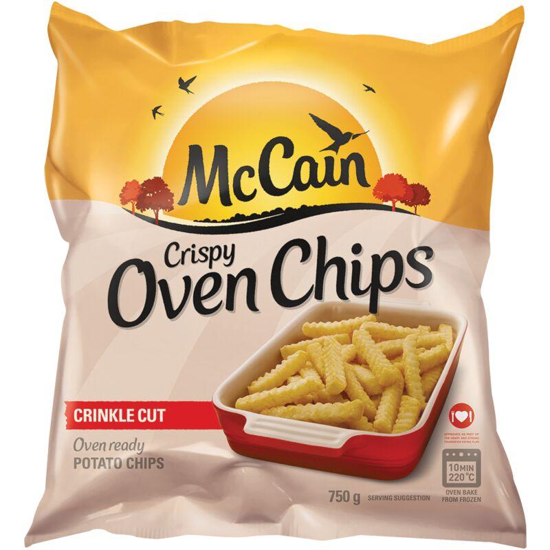 MCCAIN OVEN CHIPS CRISPY CCUT – 750G