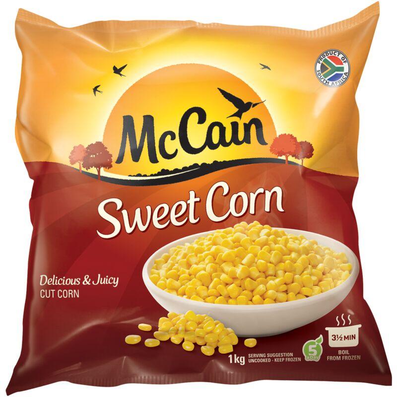 MCCAIN SWEET CORN – 1KG