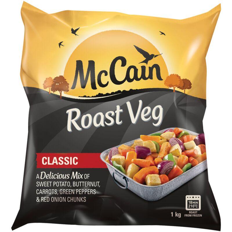 MCCAIN VEG ROAST CLASSIC – 1KG