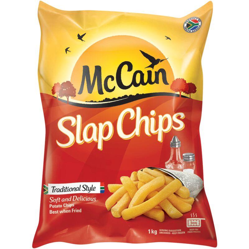 MCCAIN FROZEN CHIPS SLAP CHIPS – 1KG