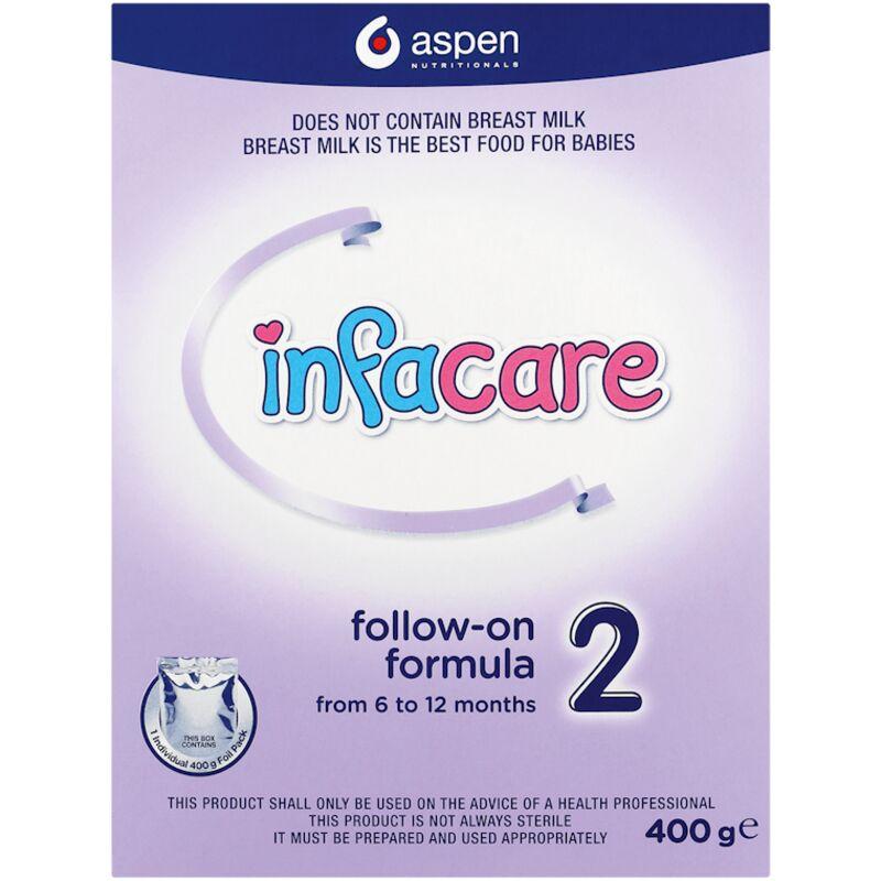 INFACARE INFANT STARTER FORMULA CARTON NO 2 – 400G