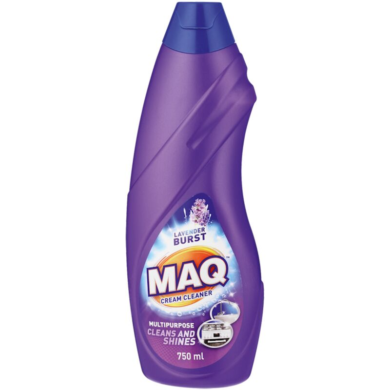 MAQ CREAM CLEANER LAVENDER BURST – 750ML
