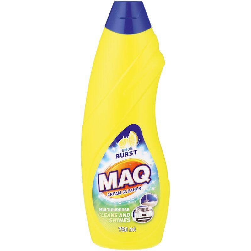 MAQ CREAM CLEANER LEMON BURST – 750ML
