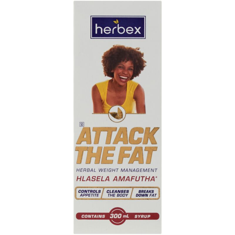 HERBEX ATTACK THE FAT SYRUP – 300ML