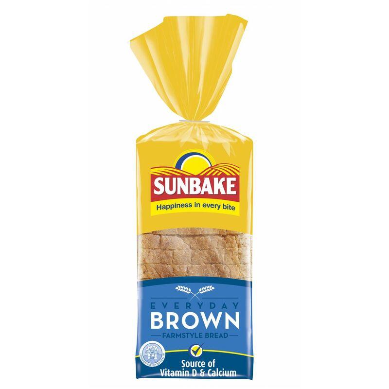 SUNBAKE BREAD BROWN SWICH SLICED – 700G