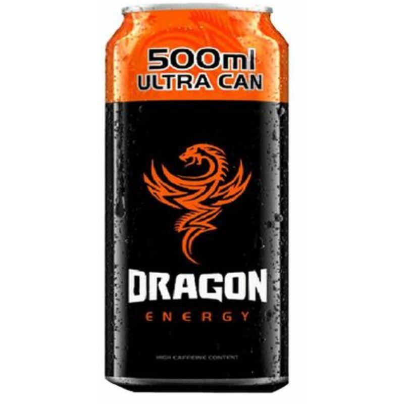 DRAGON ENERGY ORANGE CAN (SINGLE) – 330ML