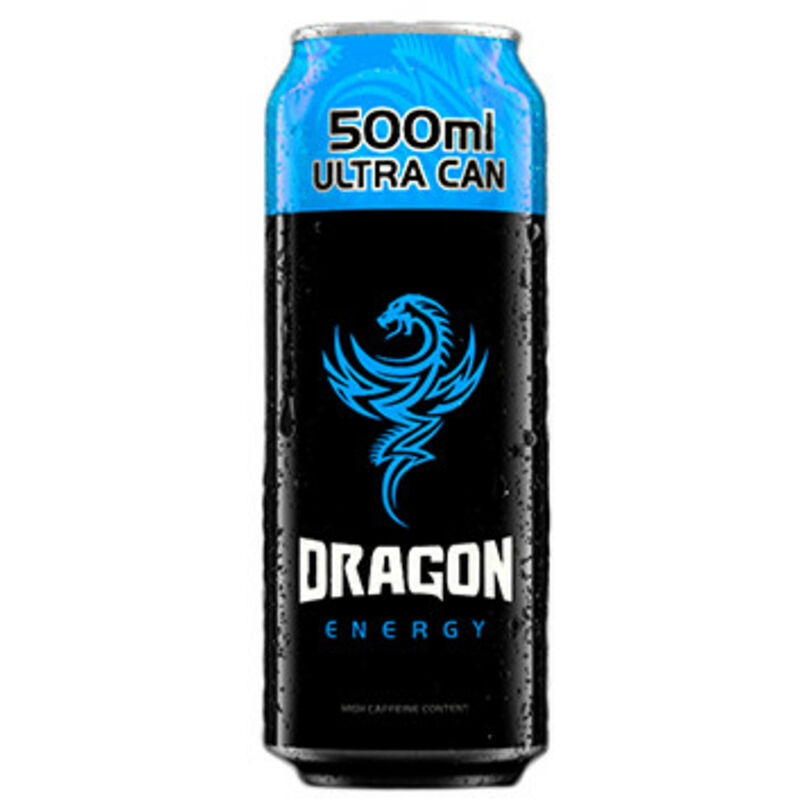 DRAGON ENERGY DRINK BLUEBERRY – 500ML
