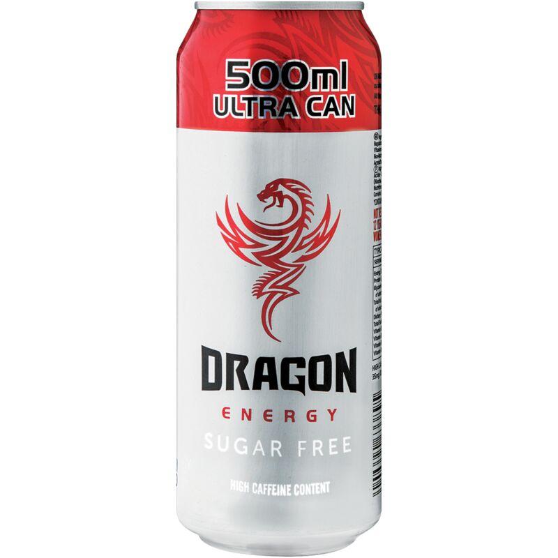DRAGON ENERGY DRINK SUGAR FREE – 500ML