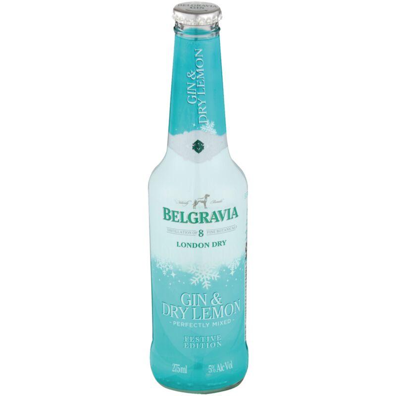 BELGRAVIA COOLER DRY LEMON – 275ML