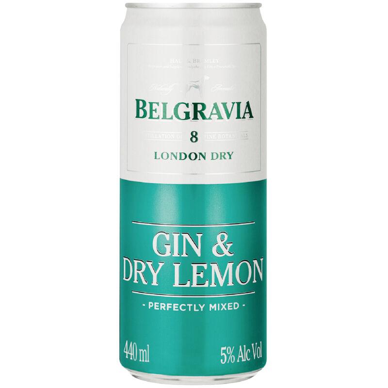 BELGRAVIA COOLER GIN & LEMON – 440ML