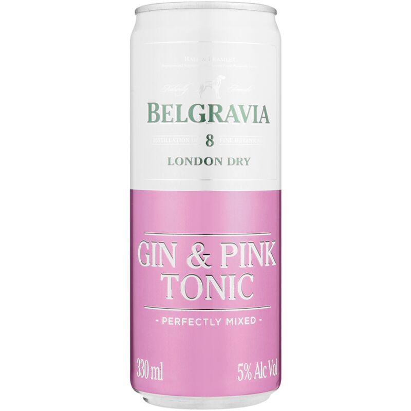 BELGRAVIA COOLER GIN & PINK – 330ML