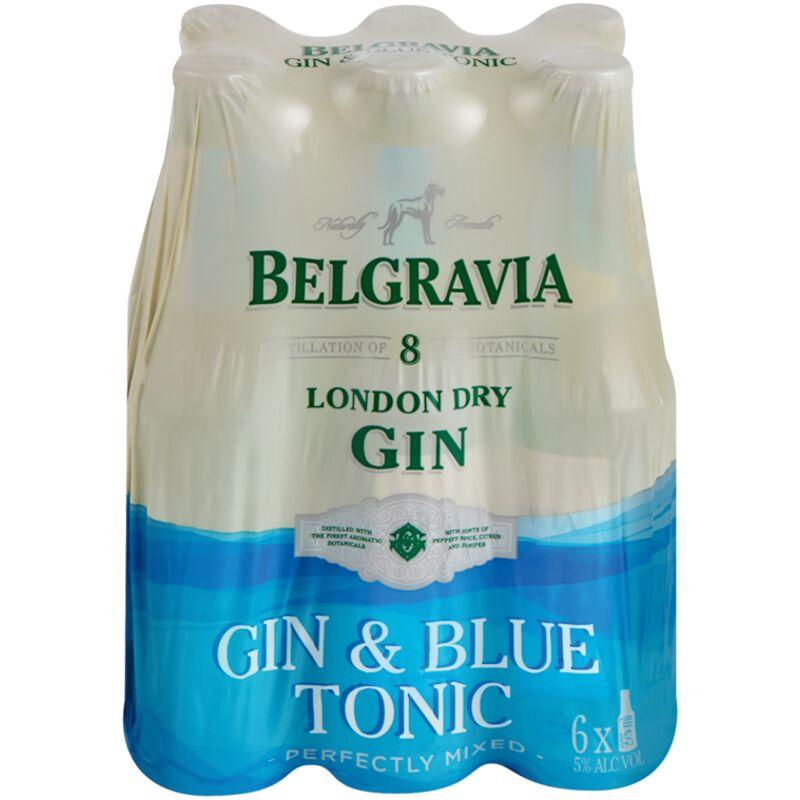 BELGRAVIA GIN B/TONIC – 275ML X 6