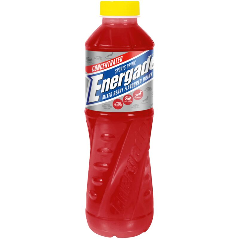 ENERGADE CONCENTRATE MIXED BERRY – 750ML