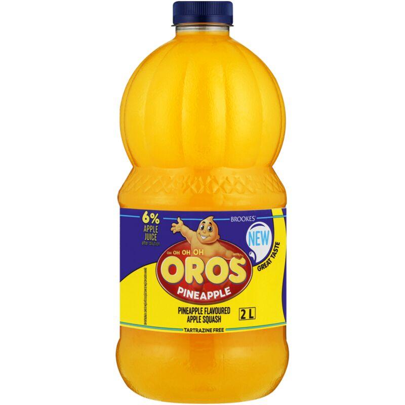 OROS SQUASH PINEAPPLE – 2L