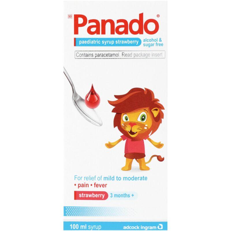 PANADO PAEDIATRIC STRAWBERRY SYRUP – 100ML