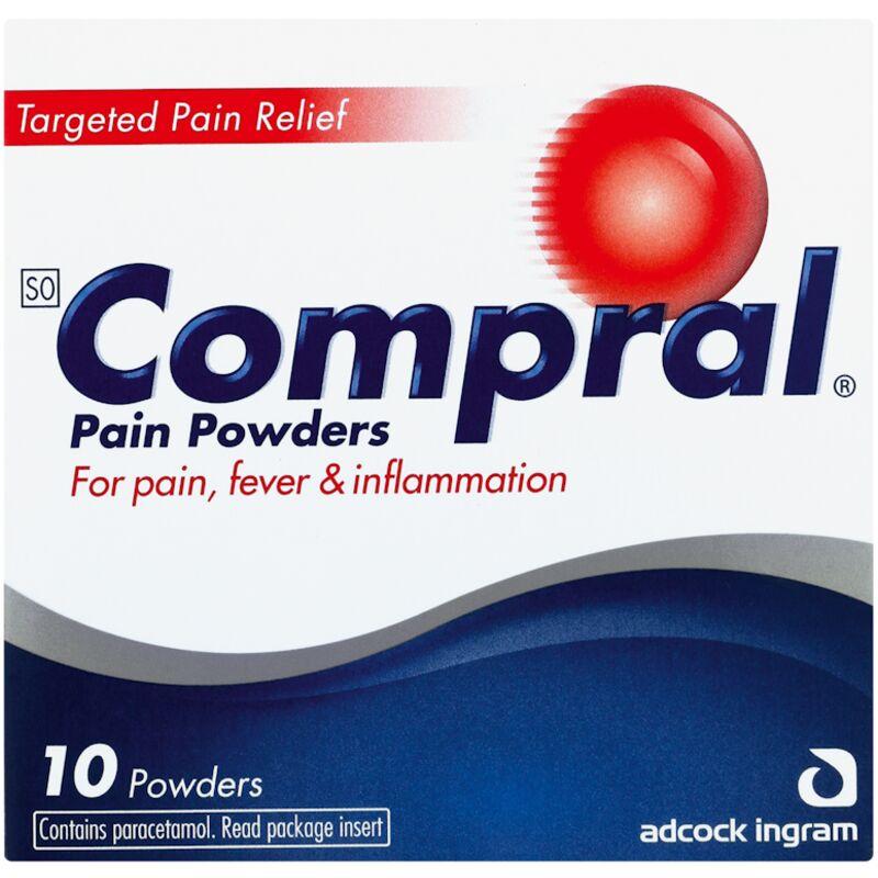 COMPRAL PAIN POWDER – 10S