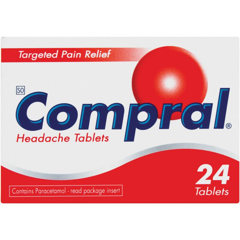 COMPRAL PAIN TABLETS – 24S