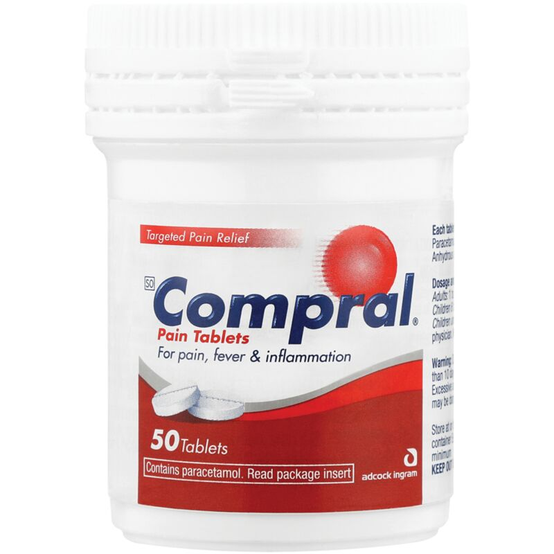 COMPRAL PAIN TABLETS – 50S