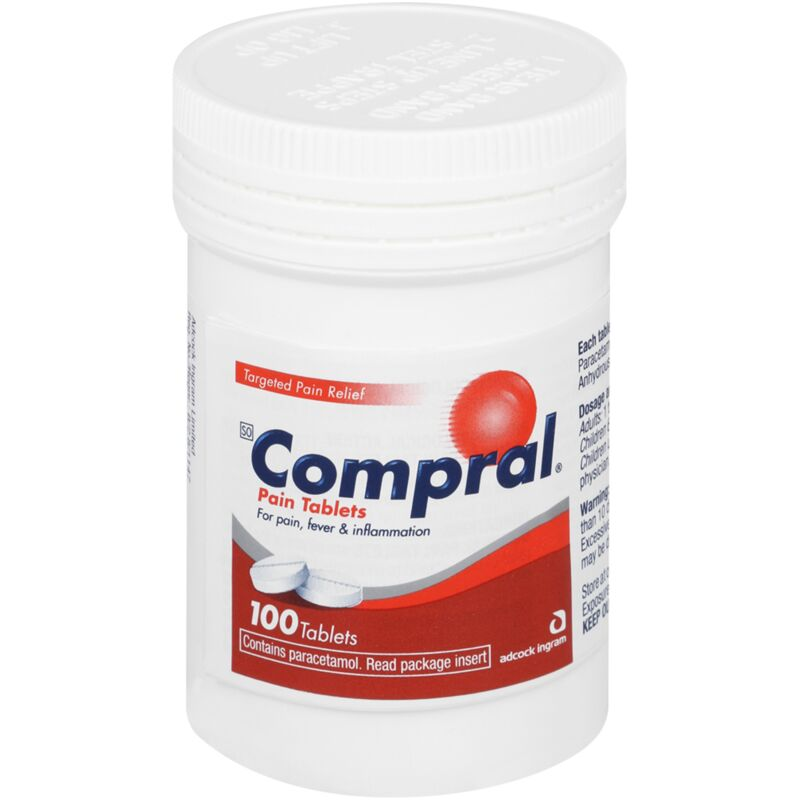 COMPRAL PAIN TABLETS – 100S