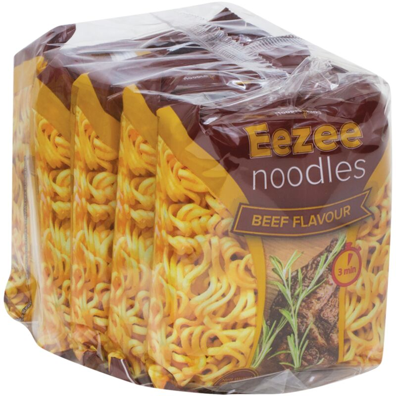 EEZEE NOODLES VALUE PACK BEEF – 5S