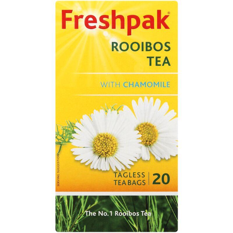 FRESHPAK HERBAL TEABAGS CHAMOMILE – 20S