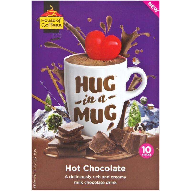 HOUSE OF COFFEES HUG IN A MUG HOT CHOCOLATE 25G – 10S
