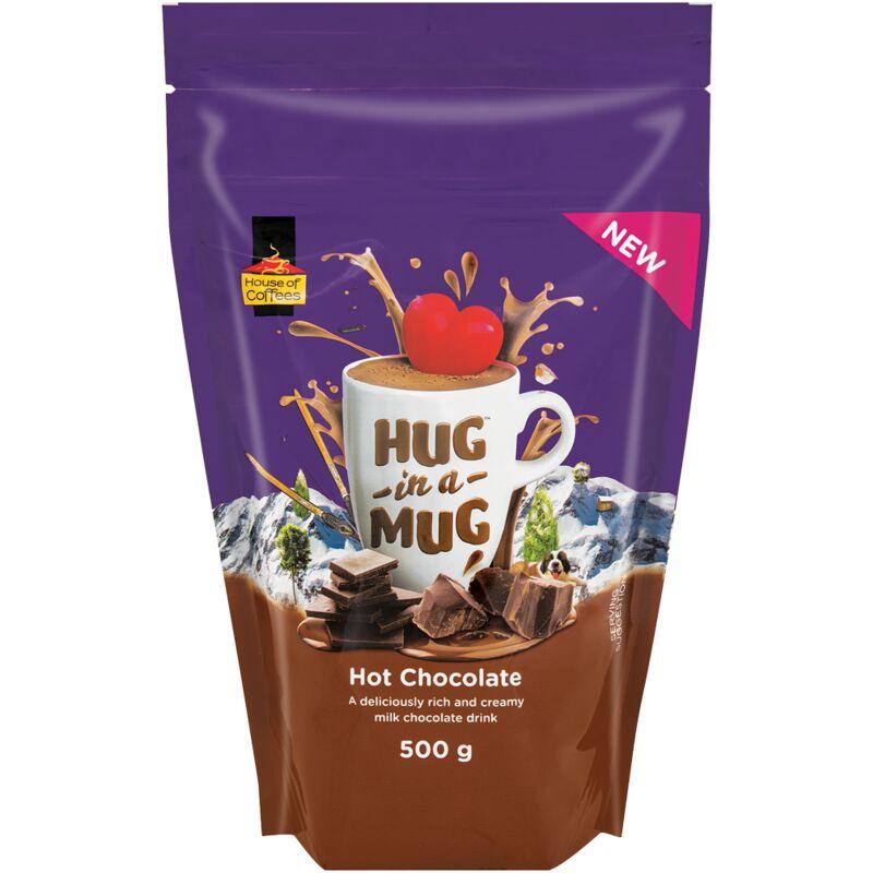 HOUSE OF COFFEES HUG IN A MUG HOT CHOCOLATE – 500G