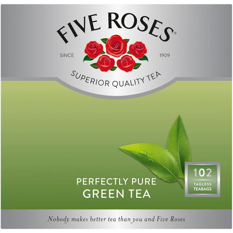 FIVE ROSES TEA BAGS GREEN TEA – 102S