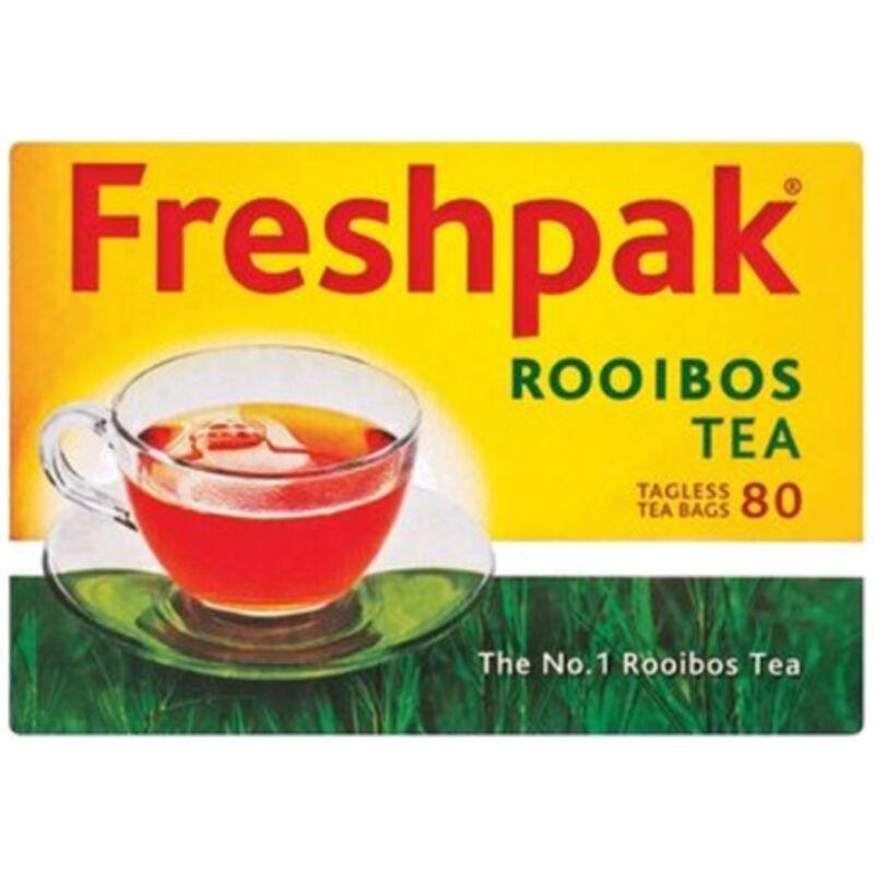 FRESHPAK TEABAGS ROOIBOS TAGLESS – 80S