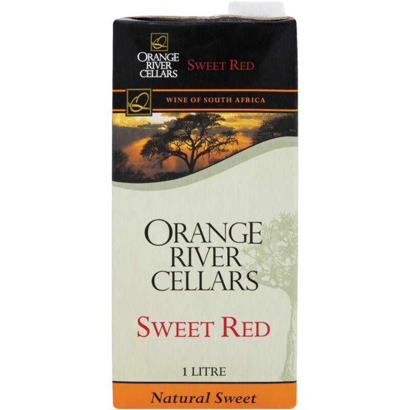 ORIVER CELLARS TETRA PAC SWEET RED – 1L