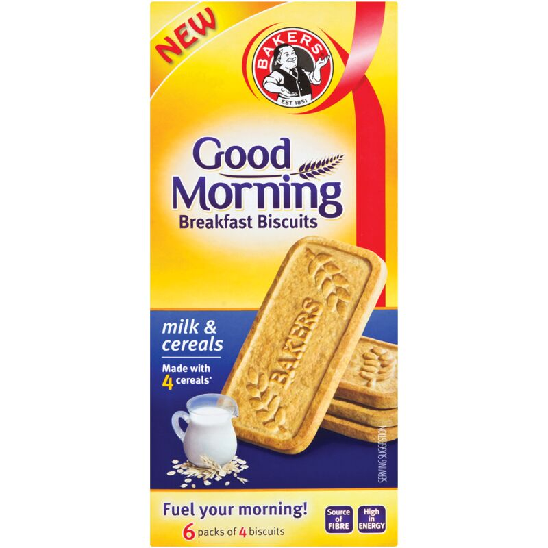 BAKERS GOOD MORNING MILK CEREAL – 300G