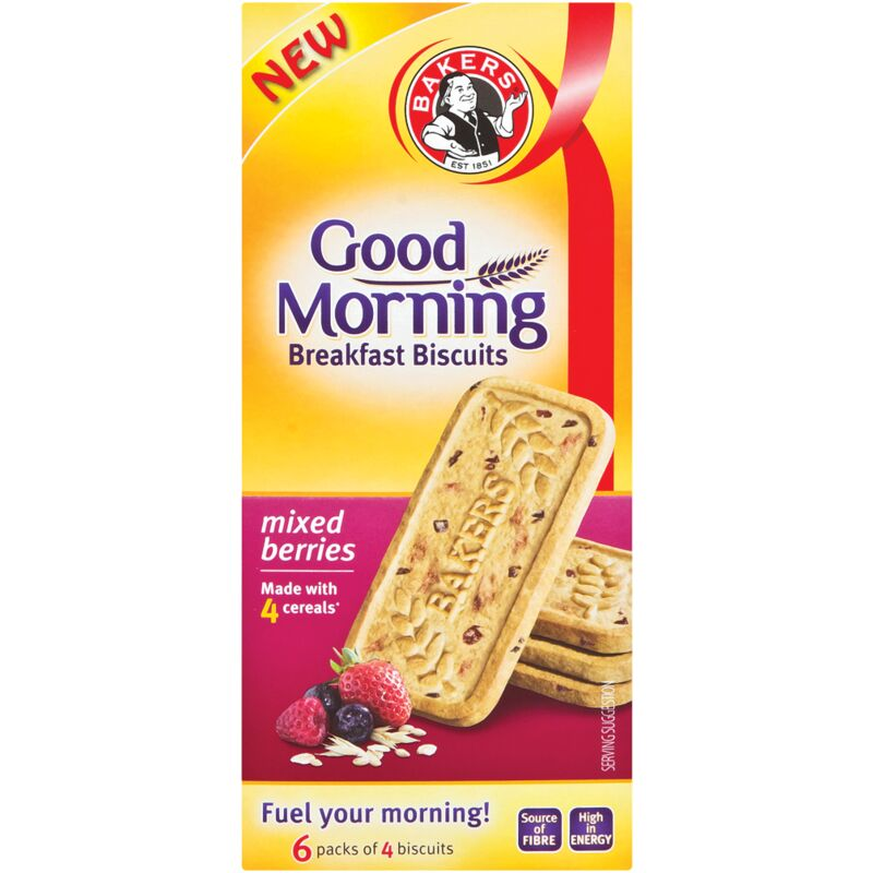 BAKERS GOOD MORNING MIXED BERRIES – 300G
