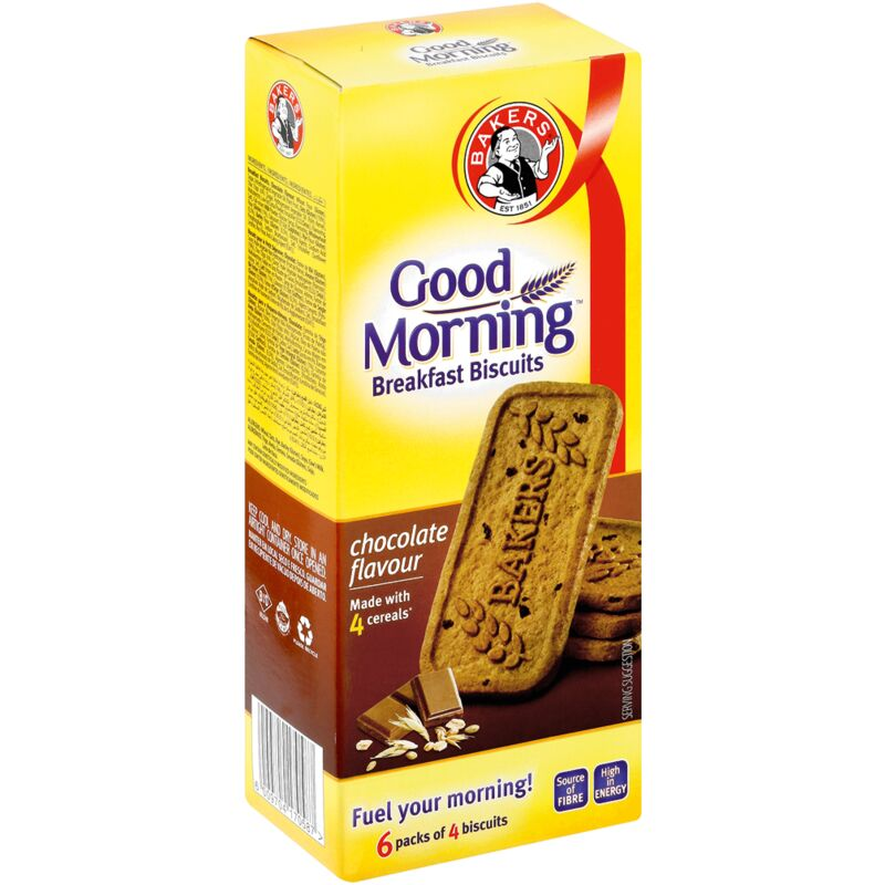 BAKERS GOOD MORNING CHOCOLATE – 300G