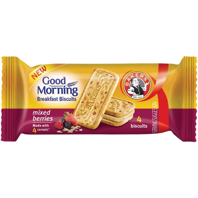 BAKERS GOOD MORNING MIXED BERRIES – 50G